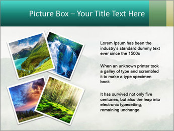 Mountain valley PowerPoint Templates - Slide 23
