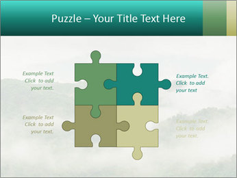 Mountain valley PowerPoint Templates - Slide 43