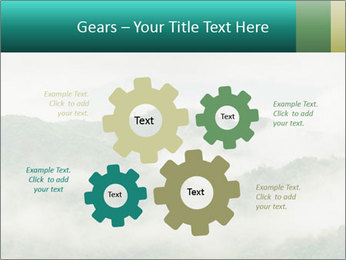 Mountain valley PowerPoint Templates - Slide 47