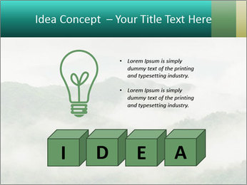 Mountain valley PowerPoint Templates - Slide 80