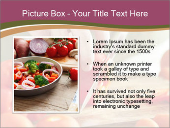 Cutting vegetables PowerPoint Template - Slide 13