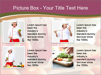 Cutting vegetables PowerPoint Template - Slide 14