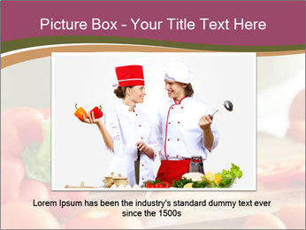 Cutting vegetables PowerPoint Template - Slide 15