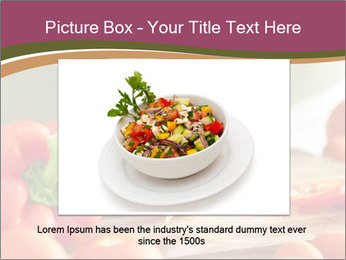 Cutting vegetables PowerPoint Template - Slide 16