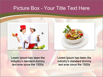 Cutting vegetables PowerPoint Template - Slide 18