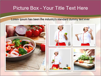Cutting vegetables PowerPoint Template - Slide 19