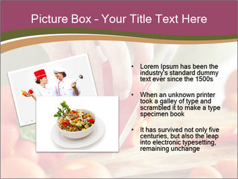 Cutting vegetables PowerPoint Template - Slide 20