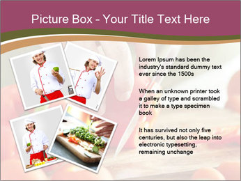 Cutting vegetables PowerPoint Template - Slide 23