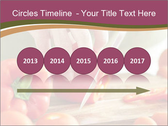 Cutting vegetables PowerPoint Template - Slide 29