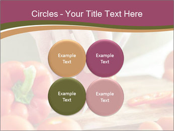 Cutting vegetables PowerPoint Template - Slide 38