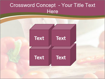 Cutting vegetables PowerPoint Template - Slide 39