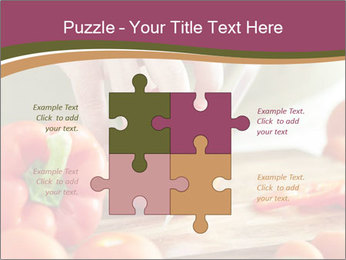 Cutting vegetables PowerPoint Template - Slide 43