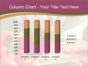 Cutting vegetables PowerPoint Template - Slide 50