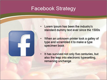 Cutting vegetables PowerPoint Template - Slide 6
