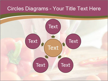 Cutting vegetables PowerPoint Template - Slide 78