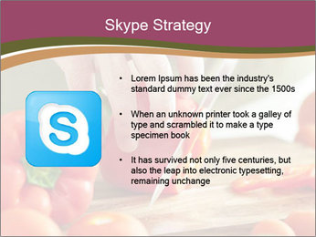 Cutting vegetables PowerPoint Template - Slide 8