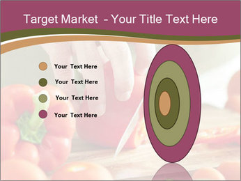 Cutting vegetables PowerPoint Template - Slide 84