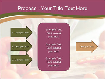 Cutting vegetables PowerPoint Template - Slide 85
