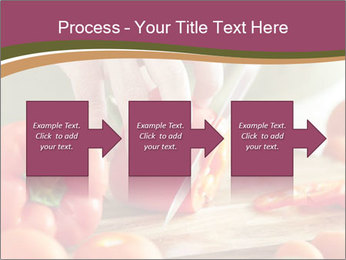 Cutting vegetables PowerPoint Template - Slide 88