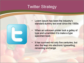 Cutting vegetables PowerPoint Template - Slide 9