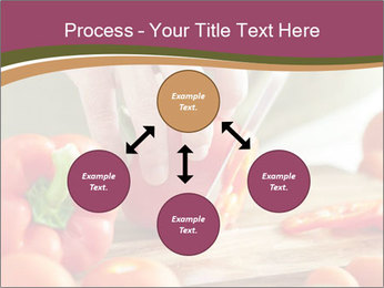 Cutting vegetables PowerPoint Template - Slide 91