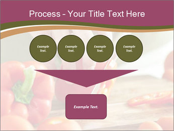 Cutting vegetables PowerPoint Template - Slide 93
