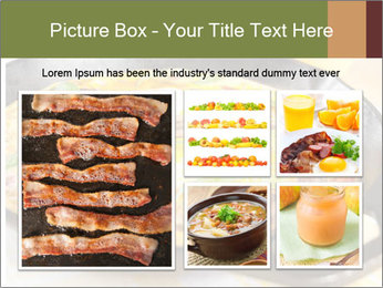 Eggs and vegetables PowerPoint Templates - Slide 19