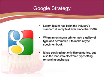 Acrylic denture PowerPoint Template - Slide 10
