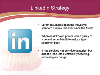 Acrylic denture PowerPoint Template - Slide 12