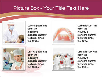 Acrylic denture PowerPoint Template - Slide 14