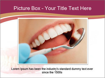 Acrylic denture PowerPoint Template - Slide 16