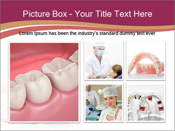 Acrylic denture PowerPoint Template - Slide 19