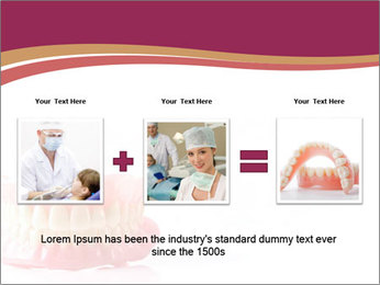 Acrylic denture PowerPoint Template - Slide 22