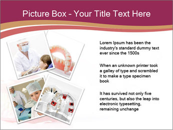 Acrylic denture PowerPoint Template - Slide 23