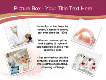 Acrylic denture PowerPoint Template - Slide 24