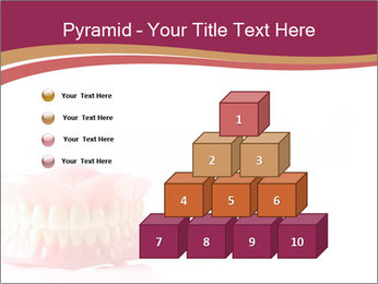 Acrylic denture PowerPoint Template - Slide 31