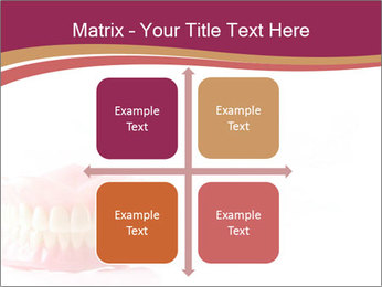 Acrylic denture PowerPoint Template - Slide 37