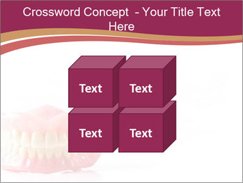 Acrylic denture PowerPoint Template - Slide 39