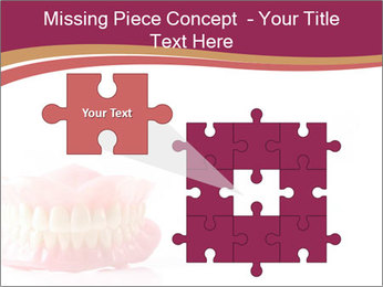 Acrylic denture PowerPoint Template - Slide 45