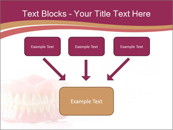 Acrylic denture PowerPoint Template - Slide 70