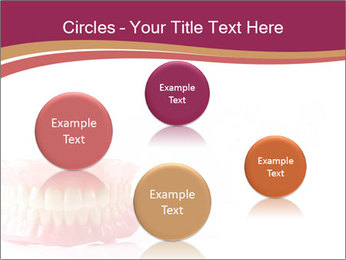 Acrylic denture PowerPoint Template - Slide 77
