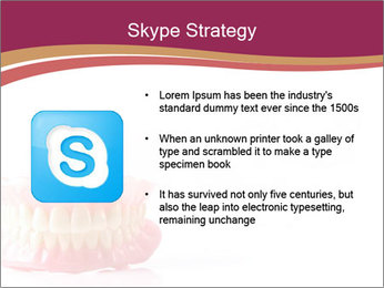 Acrylic denture PowerPoint Template - Slide 8