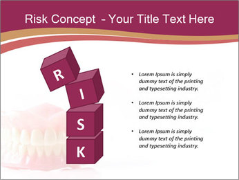 Acrylic denture PowerPoint Template - Slide 81