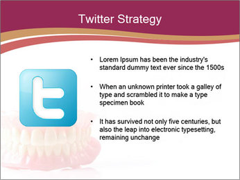 Acrylic denture PowerPoint Template - Slide 9