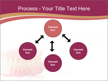 Acrylic denture PowerPoint Template - Slide 91