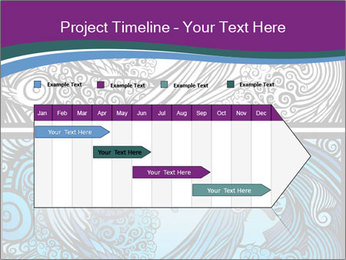 Mermaid PowerPoint Template - Slide 25