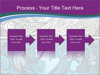 Mermaid PowerPoint Template - Slide 88