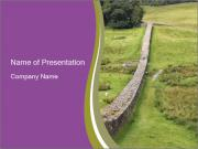 Hadrian's wall PowerPoint Templates