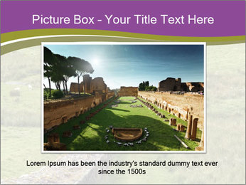 Hadrian's wall PowerPoint Template - Slide 16