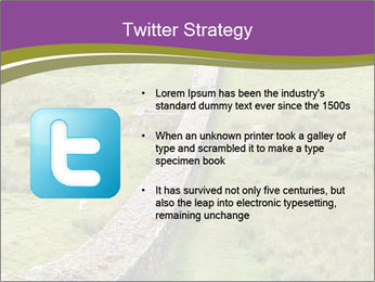 Hadrian's wall PowerPoint Template - Slide 9